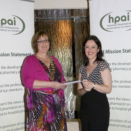 Many thanks to the HPAI for their recent donation to the Pharmacy Benevolent Fund